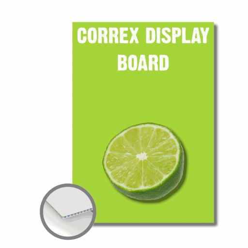 Correx Display Board