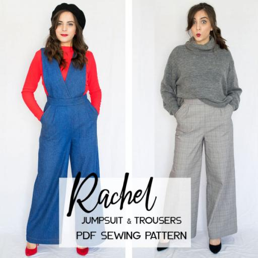 Rachel Trousers & Jumpsuit